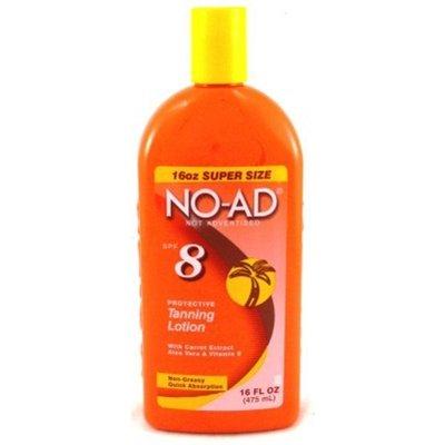 NO-AD 8 Защитный лосьон для загара SPF 8 - 16 жидких унций