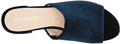 Nine West Vrouwen Raissa Fabric Slipper Marine Stof