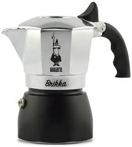 Bialetti Espresso Machine 2-Cup Silver