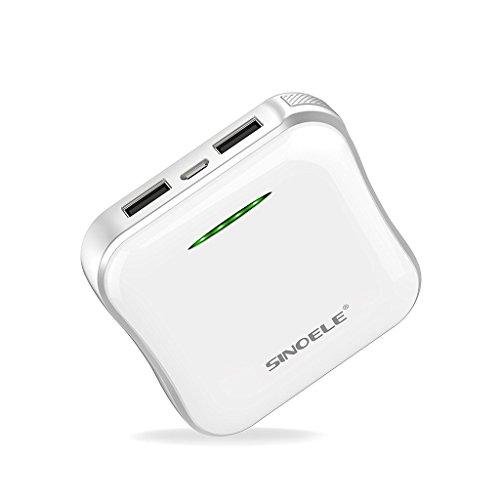 SINOELE Compact 6600mAh Portable External