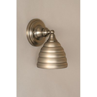 Wall Sconce w Beehive Metal Shade