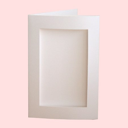 Photo cards amazon pack of 5 white 4 x 6 card blanks and envelopes with rectangular m4hsunfo