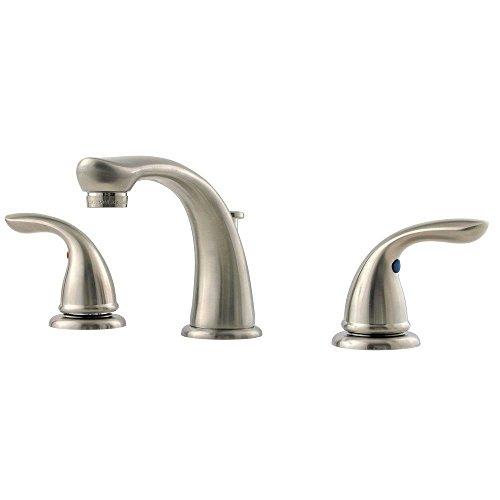 st Series 8-Inch Widespread Bathroom Faucet, Brushed Nickel ()