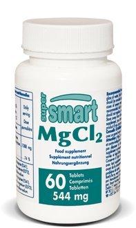 Supersmart MrSmart - Minerales - MgCl2 - Magnesium chloride (Cloruro de magnesio). 544mg