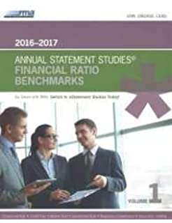 RMA Annual Statement Studies cover