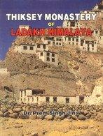 (Thiksey Monastery of Ladakh Himalaya)