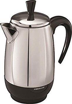New Farberware Fcp280 Stainless Steel 2 To 8 Cup Electric Perculator 6151153 (Farberware Coffee Pot)