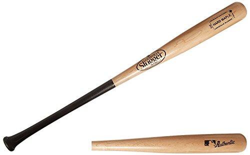Maple Hard (Louisville Slugger MBHMI13-NB Hard Maple I13 Natural/Black Baseball Bat, 32-Inch/31-Ounce)