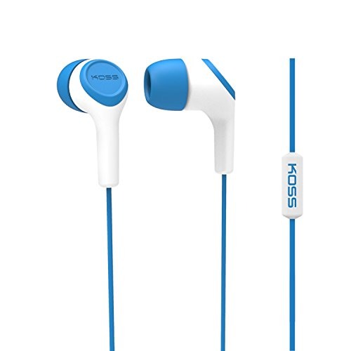 Koss KEB15i In-Ear Headphone, Blue