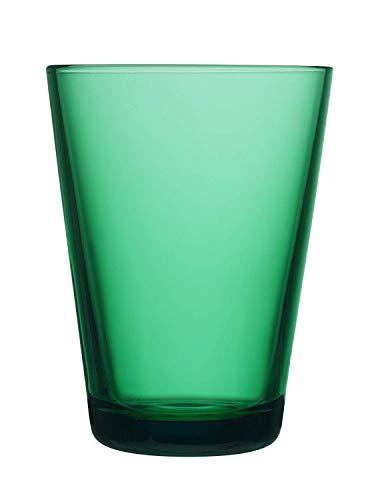 Kartio Emerald Glass Tumblers, Set of 2 By Iittala (13.5 oz)