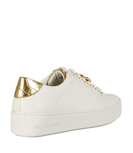 MICHAEL Michael Kors Sneakers Poppy in Pelle Donna MOD. 43R8POFS1L