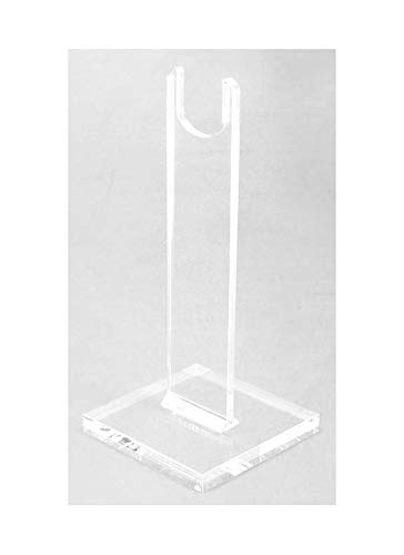 Easels by Amron Rifle, Long Gun Display Stand, for Displays and Shows, Clear Acrylic (8