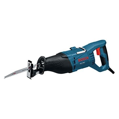 chollos oferta descuentos barato Bosch Professional GSA 1100 E Sierra sable 1100 W 230 mm en maletín