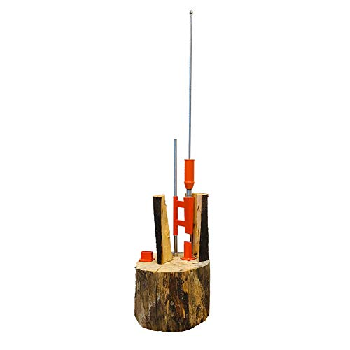 Speedforce Manual Log Splitter Firewood Kindling Splitter for Indoor and Outdoor Wood Chopping