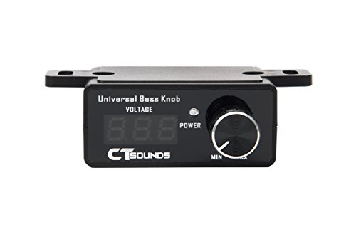 CT Sounds Universal Bass Knob With Digital Volt Meter by CT Sounds