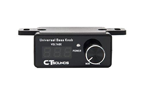 CT Sounds Universal Bass Knob With Digital Volt - Bass Control Knob Universal