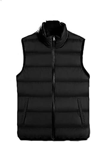 HLD メンズダウン綿の秋と冬のツーリングチョッキ フィッシングベスト (Color : B, Size : M)