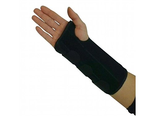 Wetietir Skating 1 pcs Carpal Tunnel Wrist Brace Support Damage Forearm Splint Group (Left Hand M) for Protection ()
