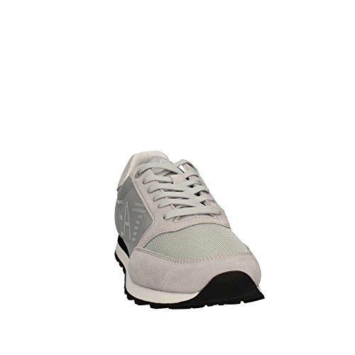 Emporio Armani - Zapatillas de Material Sintético para hombre gris gris