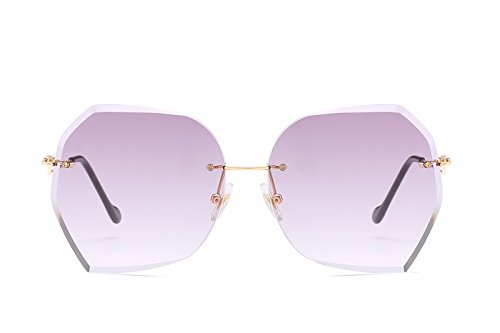 Hombre de Mujer de B de Retro Sol E Gafas Gafas polarizadas Ojos Intellectuality Sol Personalidad xBwIqS5