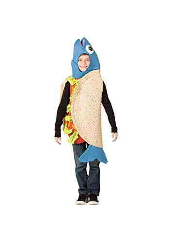 Rasta Imposta Fish Taco Children's Costume, Child 7-10 -