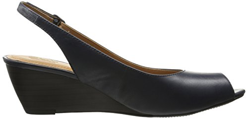 Navy April Clarks Womens Clarks Pump Brielle Womens Wedge x7PgBw0qI
