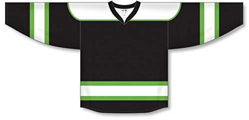 (Lime Green Select Plain Blank Hockey Jerseys)