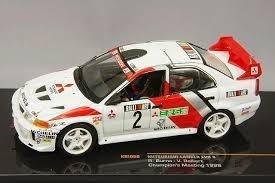 1/43 三菱ランサー EvoV 1998年ラリーアート・ミーティング #2 R.バーンズ KBI066