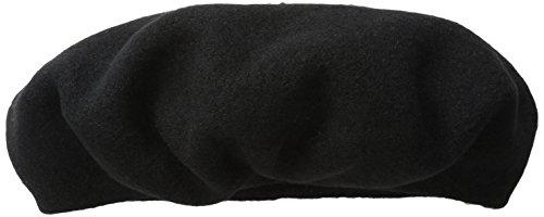 SCALA Women's Wool Beret, Black One -