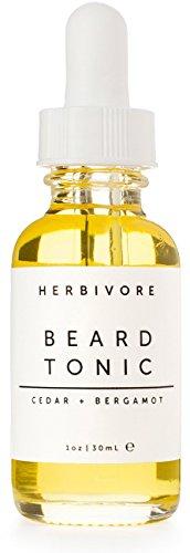 Cedar + Bergamot Beard Tonic, Herbivore Botanicals
