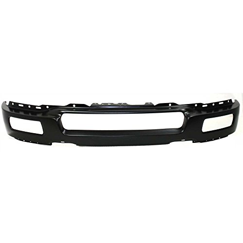 2005 Ford F150 Bumper - Bumper for Ford F-150 04-06 Front Bumper Black w/Fog Light Holes To 8-8-05 New Body Style