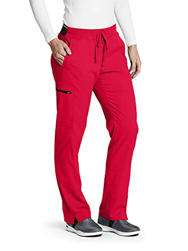 Grey's Anatomy GRSP500 Women's Kim Scrub Pant Scarlet Red - Scarlet Pants