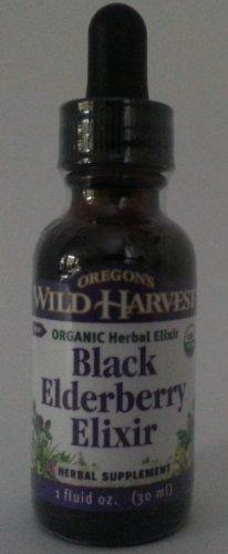 Oregon's Wild Harvest Organic Black Elderberry Elixir Extrac