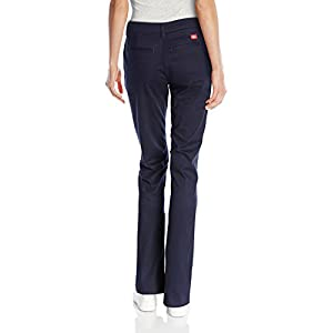 Dickies-Womens-Flat-Front-Stretch-Twill-Pant
