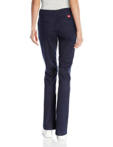 Dickies Women's Flat Front Stretch Twill Pant