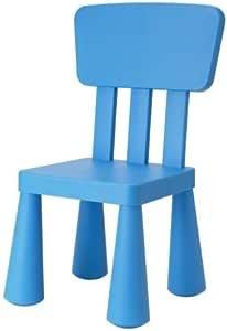 Ikea – Silla infantil Mammut Niños Muebles Silla en azul muy ...