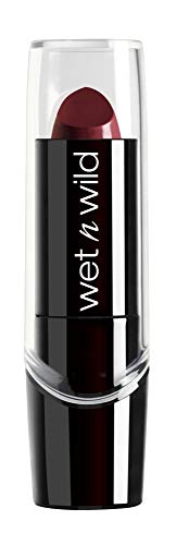 Wet n Wild Silk Finish Lipstick, Black Orchid [535D] 0.13 oz (pack of 1)