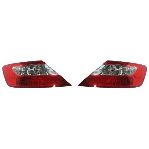 06 07 Honda Civic 2-Door Coupe Taillight Taillamp Pair Aftermarket Auto Parts