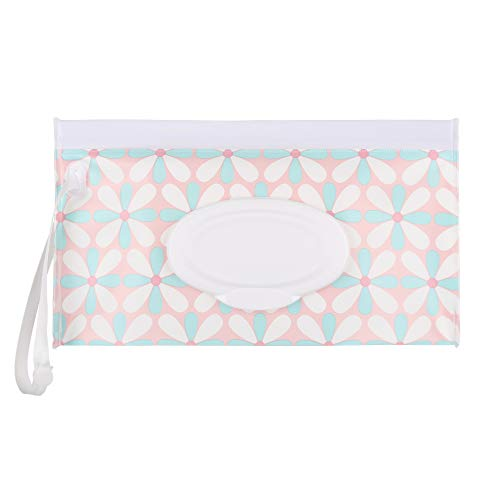 1pcs Moda Útil producto del bebé portátil Snap-Correa Estuche cosmético de la bolsa Cochecito Accesorios Wet Wipes bolsa…