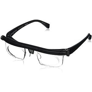 Adlens Adjustable Eyewear-Instant 20 20 Vision-Non Prescription Lenses -Both Nearsighted & Farsighted Variable Focus Glasses-Computer Reading Driving Eyeglasses-Men & Women – Centurion Optical