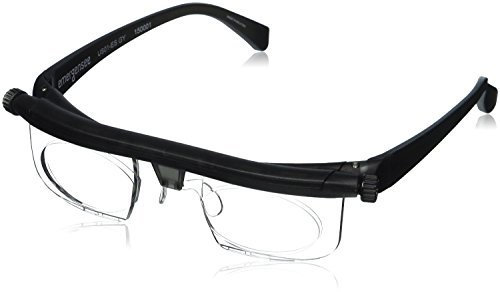 Adlens Adjustable Eyewear-Instant 20 20 Vision-Non Prescription Lenses -Both Nearsighted & Farsighted Variable Focus Glasses-Computer Reading Driving Eyeglasses-Men & Women  Centurion Optical
