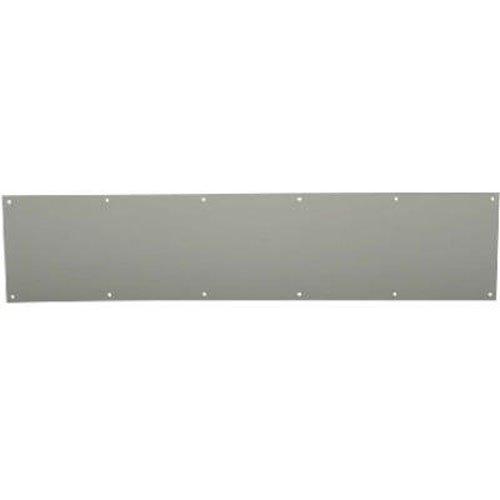 SCHLAGE Lock CO SC8400B-619 6X30 Kick Plate, Satin Nickel