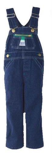 Walls Liberty Youth Washed Denim Bib Overalls