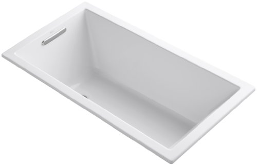 Undermount Soaking Tub - KOHLER K-1130-0 Underscore 5-Foot Acrylic Bath, White