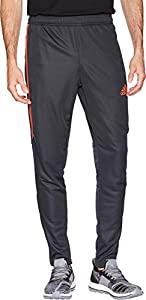 adidas Men's Soccer Tiro 17 Training Pants, Carbon/Raw Amber, Medium