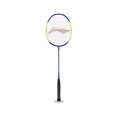 Li-Ning Badminton Racquet Smash Series With Cover Pack of 2 with Extra Grip (Q (50))