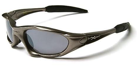 X-Loop 'Extreme' Lunettes de Soleil (Avec Etui) Sport - Cyclisme - Ski - Conduite - Moto - Taille Unique Adulte / Protection 100% UV400 (Etui Deluxe Vault Case Inclus) aRgpIwO4So