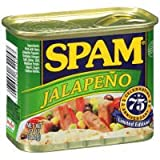 Spam Jalapeno Canned Meat (Case of 12)