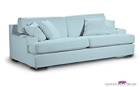 BIO-PURE azul funda para IKEA gotemburgo 3 plazas, sofá ...