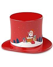TechniSat TECHNIFANT Hütchen Prachtige kerstliedjes en verhalen voor de kersttijd (speeltijd ca. 60 minuten, audio-inhoud geschikt voor kinderen vanaf 2 jaar, Duits) rood